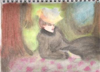 Victorian Pastel Impressionism by MsTwennyFaahve