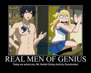 Real men of genius nudist colony