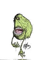 Drippy Slimer by gomezvsrufio