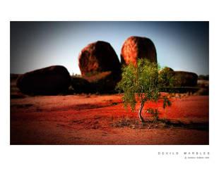Devils Marbles by Saurav