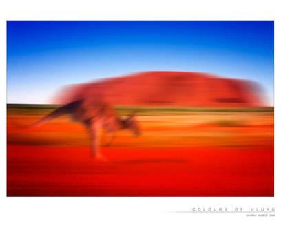 Colours of Uluru by Saurav