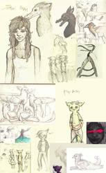 sketchdump things by Eiveri
