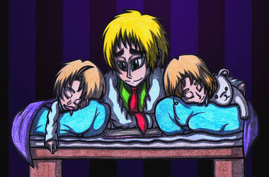 [APH] Iggy's lovely sleepyheads X3 by SailorSetsuna