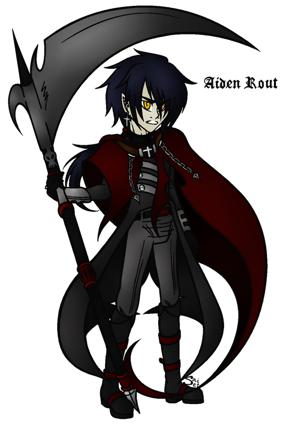 Aiden the Reaper (+Bio. Read it, it took forever.) by SailorSetsuna