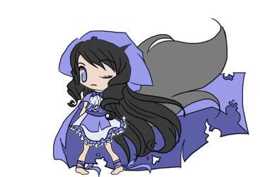 Character Design - Sora by littleredren