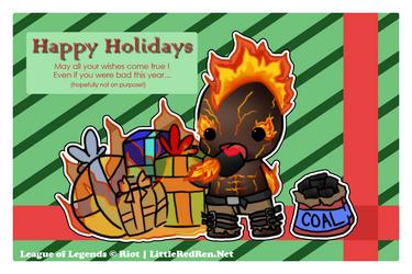 Brands Happy Holidays by littleredren
