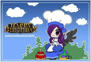 Happy Birthday Card v1 by littleredren