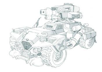 All Terrain Vehicle by kordal