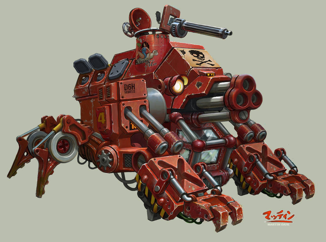 Pirate Mecha by kordal