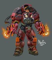 Terran Firebat by kordal