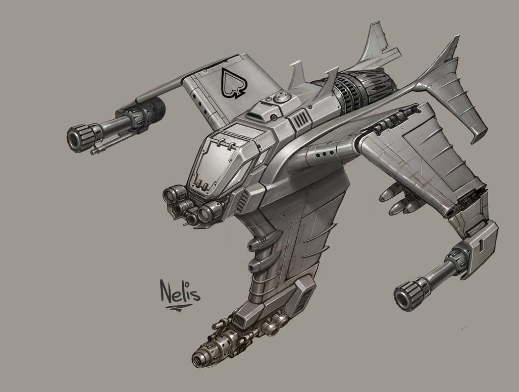 Terran Wraith by kordal