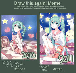 Draw This Again meme by Akimiya
