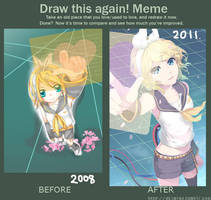 Draw This Again! Meme (2) by Akimiya