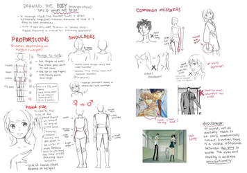 Tutorial: Drawing the Body Part 1 (Proportion) by Akimiya