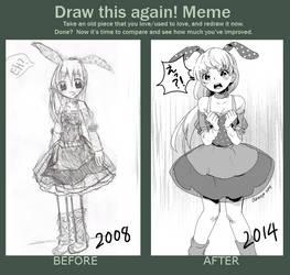 Redraw Meme by Akimiya