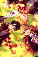 Three Friends by Akimiya