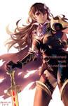 Speedpaint Commission: Nohr Noble Corrin by Akimiya
