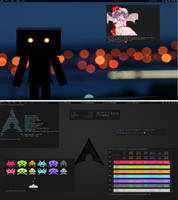 My awesome wm setup on Arch by fmazon3