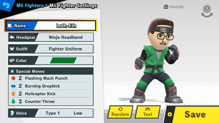 My Mii Fighter by Loth-Eth
