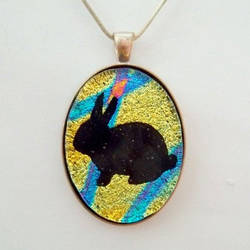 I HAZ A BUN pendant by HoneyCatJewelry