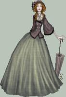 .:Victorian Day Dress:. by FionaCreates