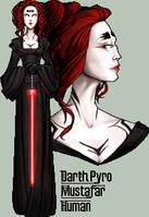 Darth Pyro by FionaCreates