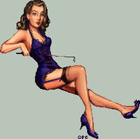 .:Miss Pin Up:. by FionaCreates