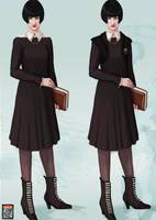 The Abhorsen Project - School Uniform by FionaCreates