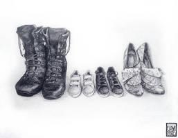 Family Portrait - 2 by FionaCreates