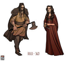 Rollo + Siggy by FionaCreates
