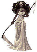 Glam Reaper - Pixel by FionaCreates