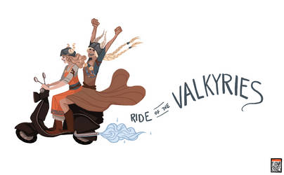 The Ride of the Valkyries by FionaCreates