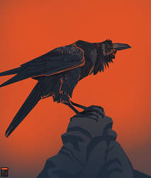 Raven by FionaCreates