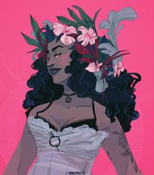 Flower Witch by FionaCreates