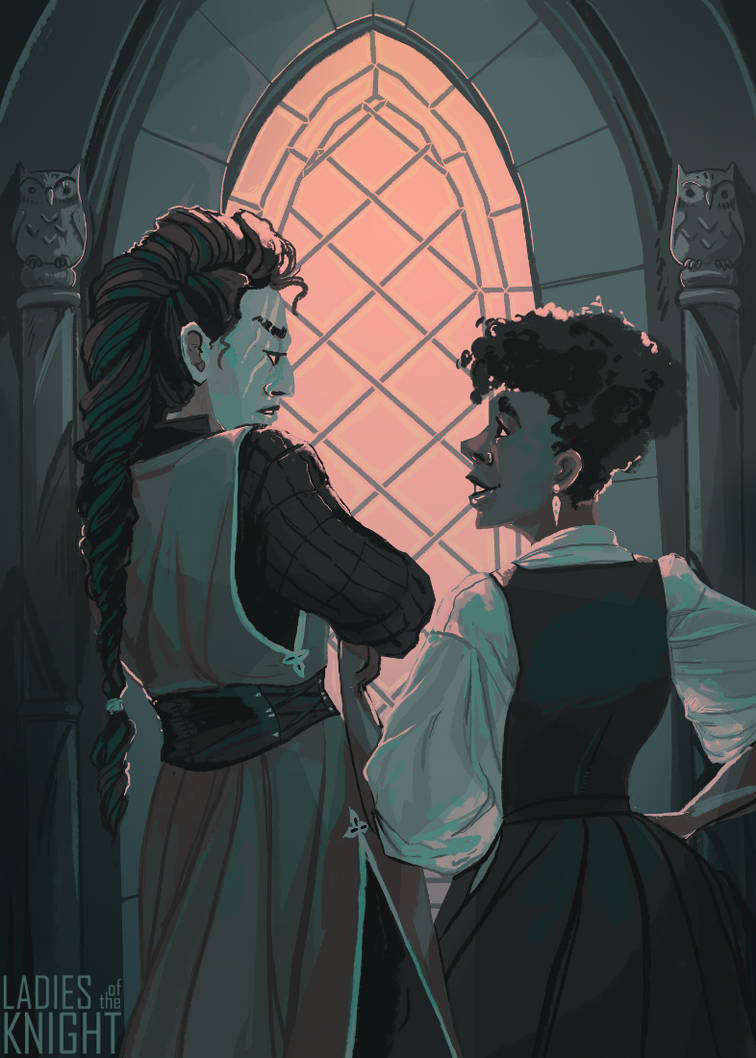 The Lady Worrier by FionaCreates