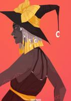 Orange Witch by FionaCreates