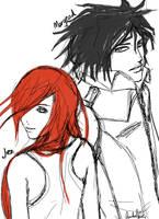 Jez and Morgead by zukiyuki