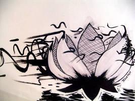 Graffiti Lotus by Juicetin