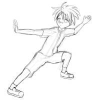 Negima Kungfu Training by raptor-tk