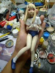 Illiya garage kit figure by raptor-tk
