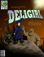 DeliGirl Comic Cover by Iddstar