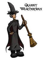 Granny Weatherwax by Iddstar