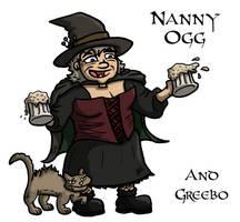 Nanny Ogg by Iddstar