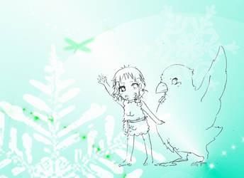 Mana_childhood friends by CallineXoP