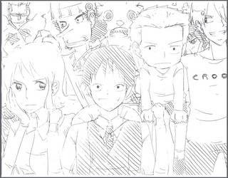 Strawhat_crew by CallineXoP