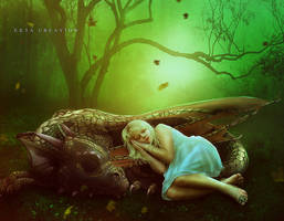 Dragon's Daughter by ektapinki