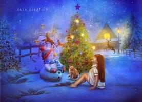 Marry Christmas 2015 by ektapinki