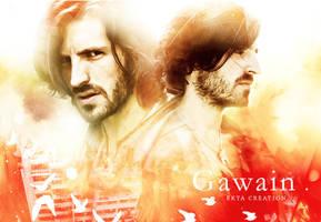 Gwaine fan art (Merlin) by ektapinki