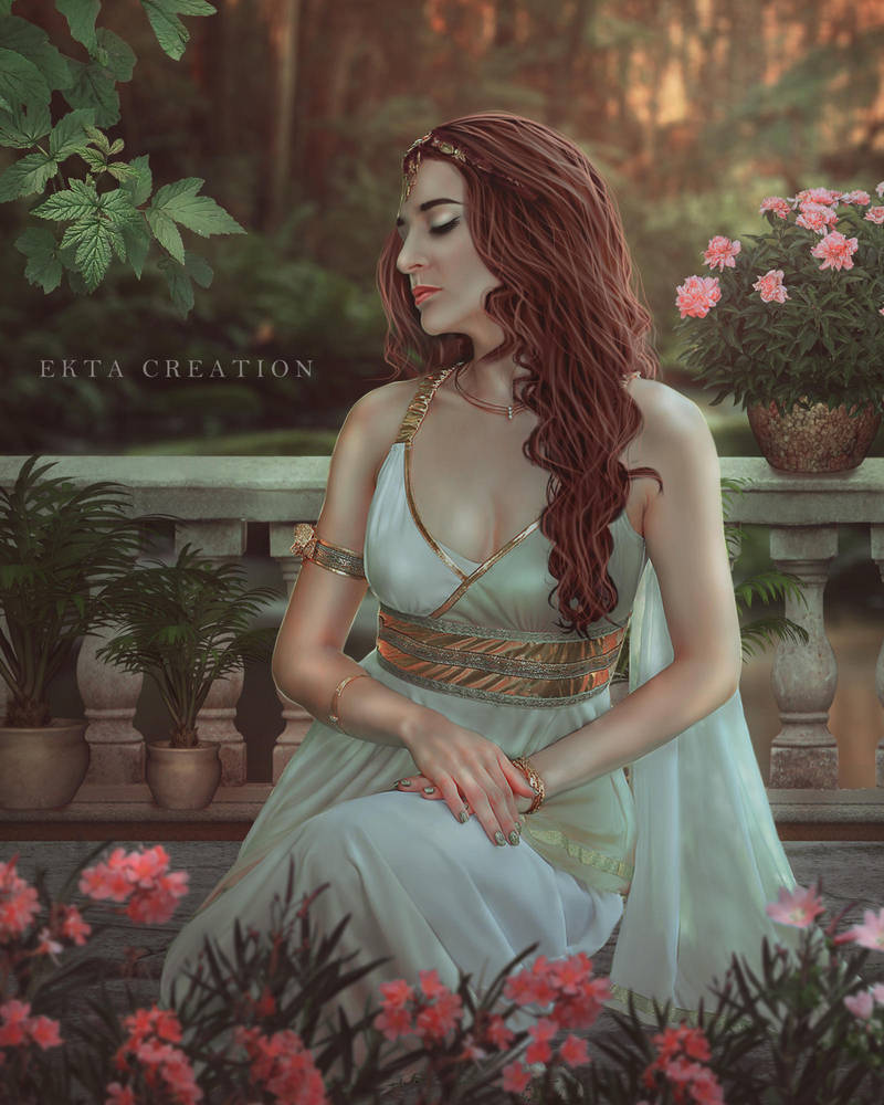 Princess In The Garden by ektapinki
