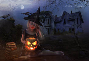 The Little Holloween Witch by ektapinki